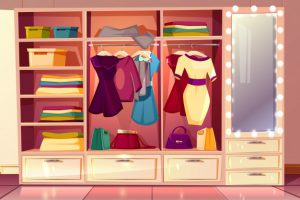 Closet organisation tips to get through every stage of life
